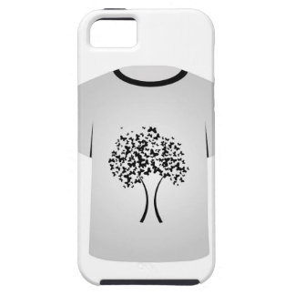 T Shirt Template- Butterfly tree iPhone 5 Cases