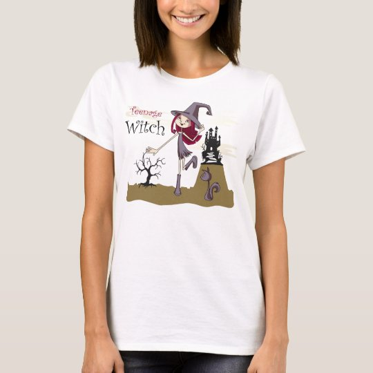 T-Shirt Tenagee Witch