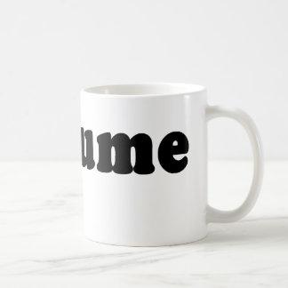 T shirt that just says COSTUME Mug