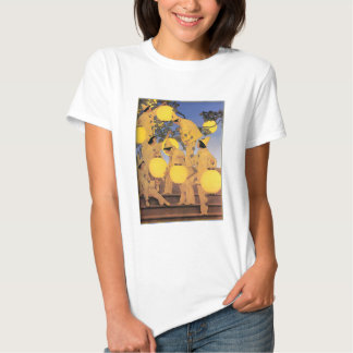 T-Shirt: The Lantern Bearers -  - Maxfield Parrish T Shirts