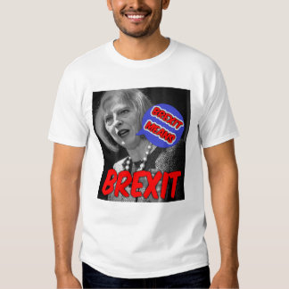 T-Shirt Theresa May Brexit Means Brexit