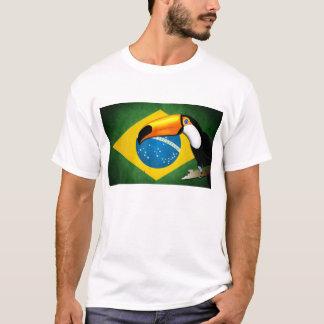 T-shirt Toucan Flag of Brazil