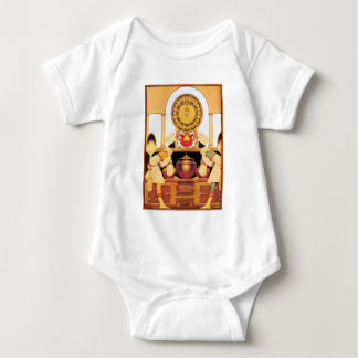 T-Shirt: Two Pastry Cooks - by Maxfield Parrish Baby Bodysuit