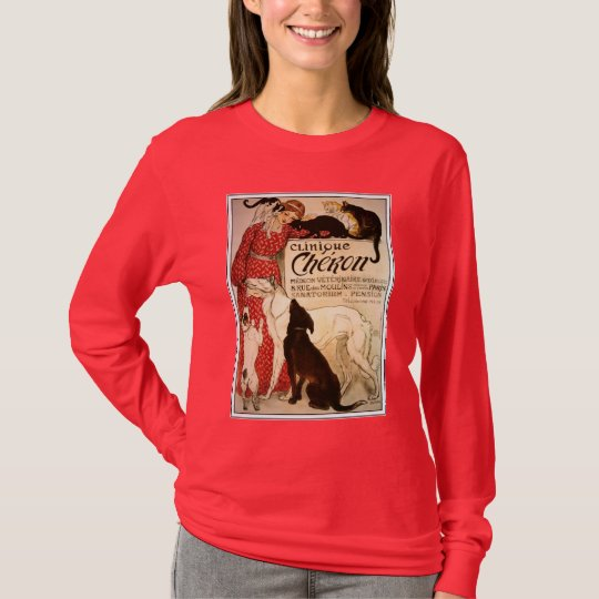 "T-Shirt: Vintage Steinlen ""Clinique Cheron"" T-Shirt"
