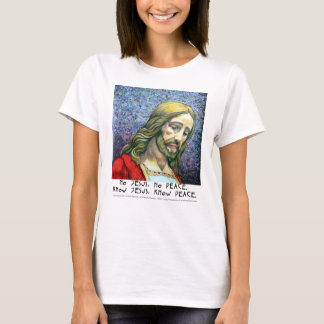 T-shirt VT No Jesus No Peace (Jesus 4)