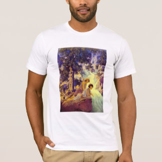 T-Shirt:  Waterfall - by Maxfield Parrish T-Shirt