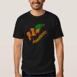 T-Shirt WATERHOUSE RASTA FLAG W/JAMAICA LION BACK