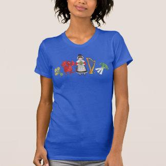 T-shirt: Welsh Daffodils,Dragon, Leeks, Harp T-Shirt