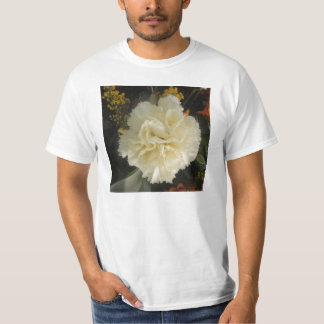 T-Shirt White Carnation Beauty