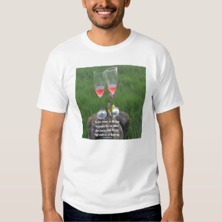 T-Shirt Wine Poem By Ladee Basset