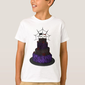 T-shirt with a Gothic theme