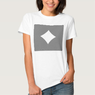 T-Shirt with Abstract Circular Patter