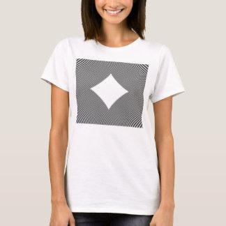T-Shirt with Abstract Circular Patter
