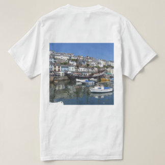 T Shirt With Brixham Harbour Picture
