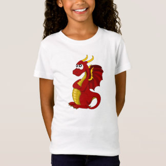 T-shirt with dragon cartoon