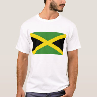 T Shirt with Flag of Jamaica
