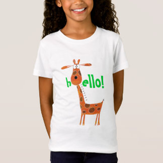 T-Shirt with funny Giraffe
