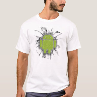 T-shirt with message