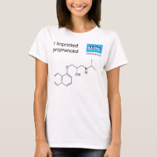 Shirt featuring the template Propranolol