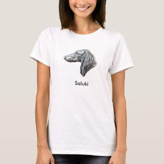 T-shirt with Saluki
