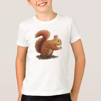 T shirt with Squirrel
