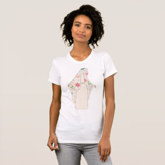 T-shirt with Virgin Mary