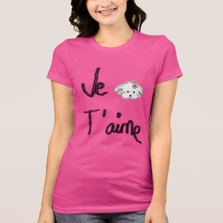 t-shirt woman fucsia of, the world of Lua