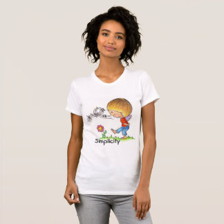 T-Shirt Women's - Children of Light - Simplicity
