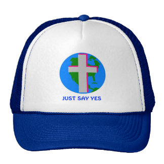 t-shirts 4 christ one, JUST SAY YES Cap