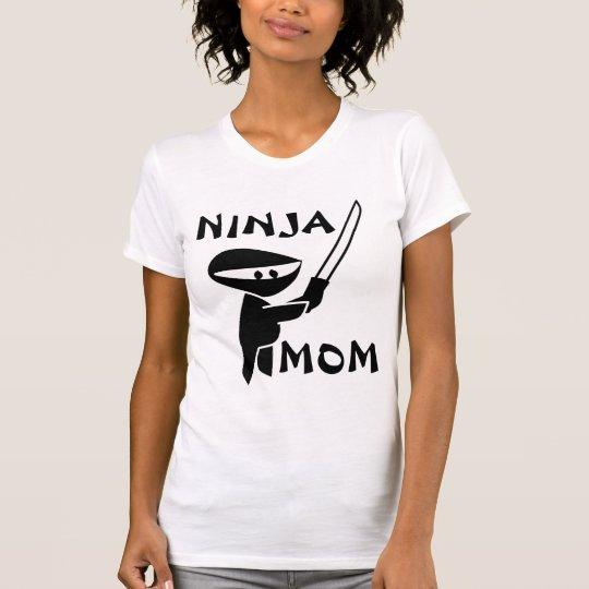 T-shirts for Mum, NINJA MOM