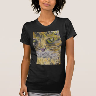 T-Shirts, Women - Cat Art T-Shirt