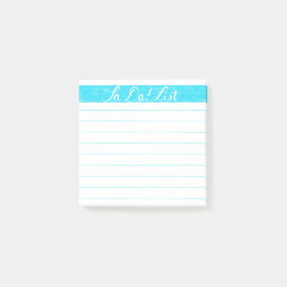 Ta-Da! List/Checklist Post-it Notes, Handlettered Post-it Notes