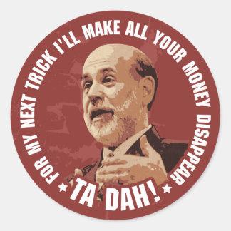 Ta Dah! Round Sticker