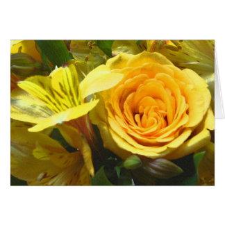 TA- Happy Birthday Rose Card