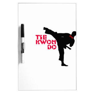 Ta Kwon Do (Tie Kwon Do) Dry Erase Board
