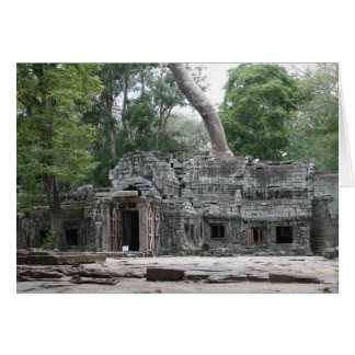 ta prohm front greeting card