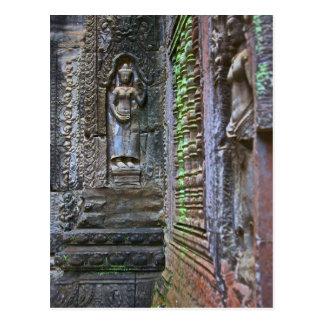 Ta Prohm Temple Siem Reap Province Cambodia 2 Postcard