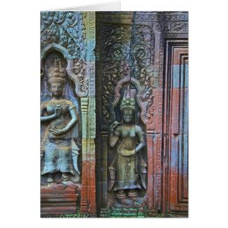 Ta Prohm Temple, Siem Reap Province, Cambodia Card