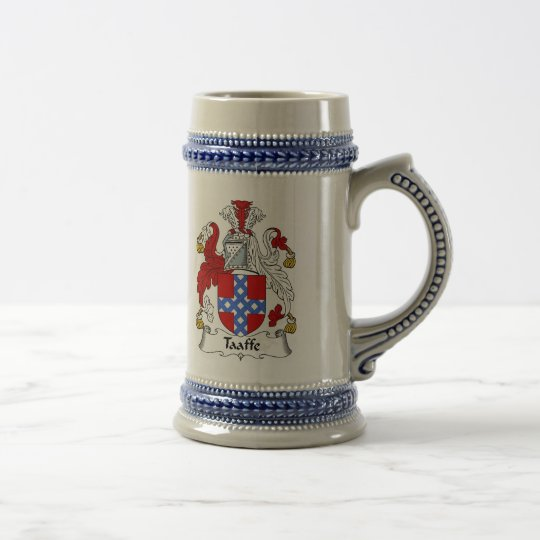 Taaffe Coat of Arms Stein - Family Crest