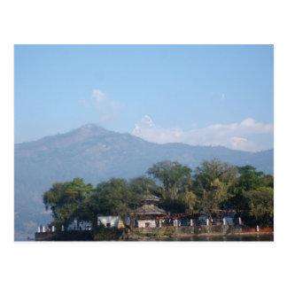 Taalbarahi Temple Pokhara Postcard