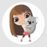 Taara and Pudding the Koala