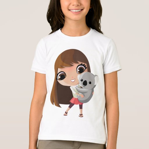 Taara and Pudding the Koala Tee Shirts