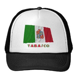 Tabasco Waving Unofficial Flag Trucker Hats