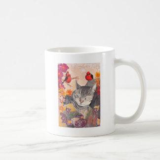 Tabby Basic White Mug