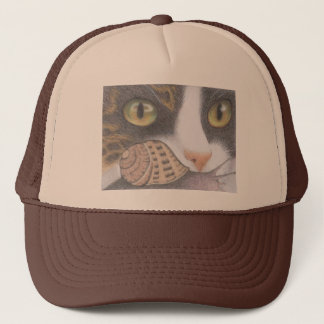 Tabby Cat and Snail Hat