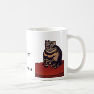 Tabby Cat by Henri Rousseau Basic White Mug