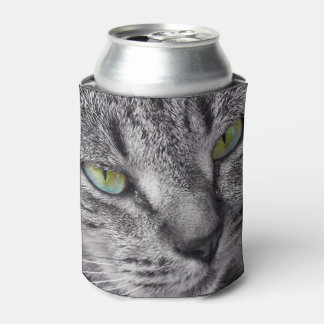 Tabby cat can cooler