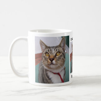 Tabby Cat Can I have some Purr..lease Coffee Mug