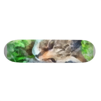 Tabby Cat Closeup Skate Board Decks