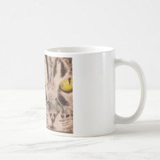 Tabby Cat Coffee Cup